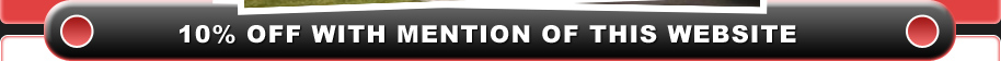 10% off for all internet customers